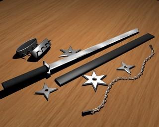 Своими руками меч ниндзя