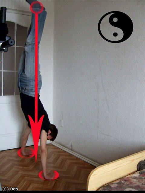 Как сделать стенку на руках